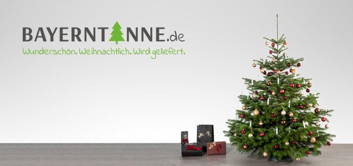 Den Christbaum vom Sofa aus kaufen - das geht bei Bayerntanne.de. Bestellen Sie Ihren frisch geschlagenen Weihnachtsbaum einfach online. Bequem und stressfrei.