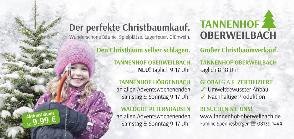 Christbaum kaufen im Landkreis Dachau